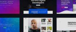 Uncode theme thumbnails