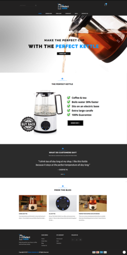 Perfect Kettle website